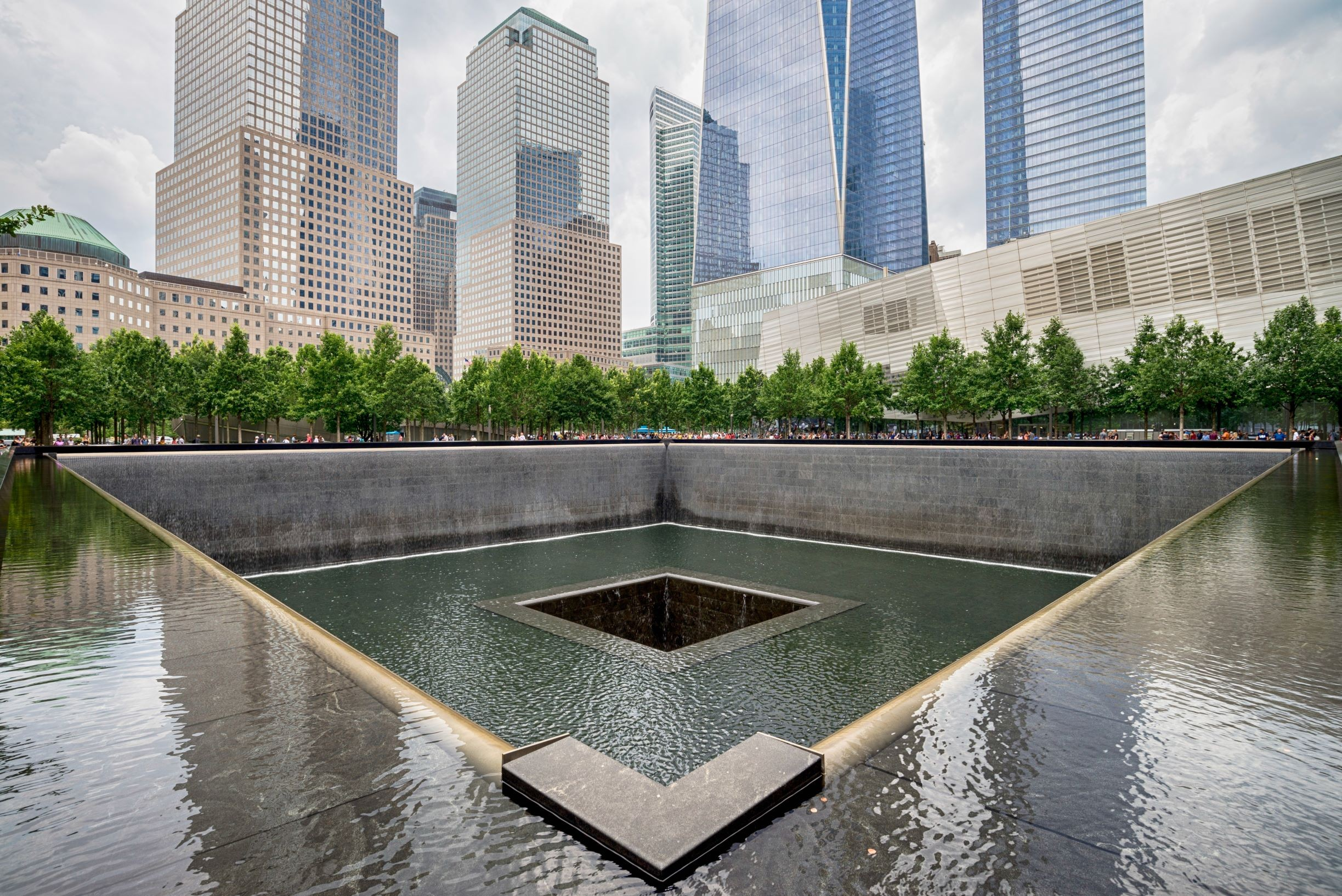 Memoriał 11 września, Nowy Jork, licencja: shutterstock/By anderm