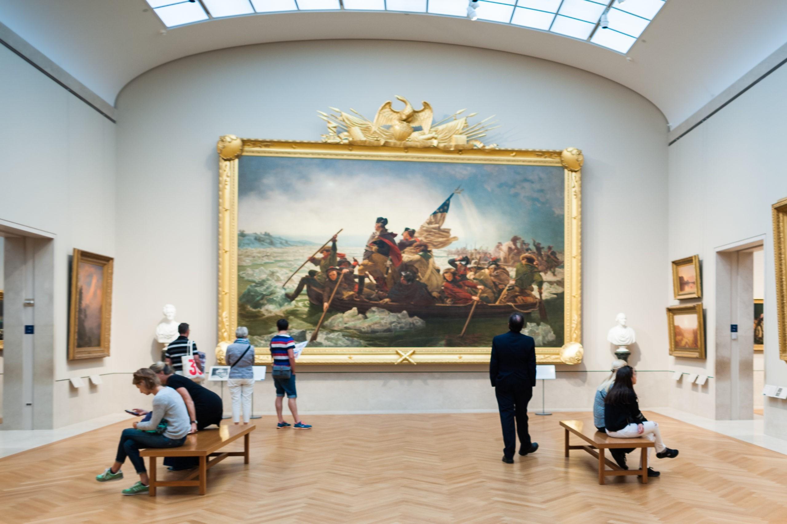 Metropolitan Museum of Art (the Met), największe muzeum sztuki w Stanach Zjednoczonych, licencja: shutterstock/By Anton_Ivanov
