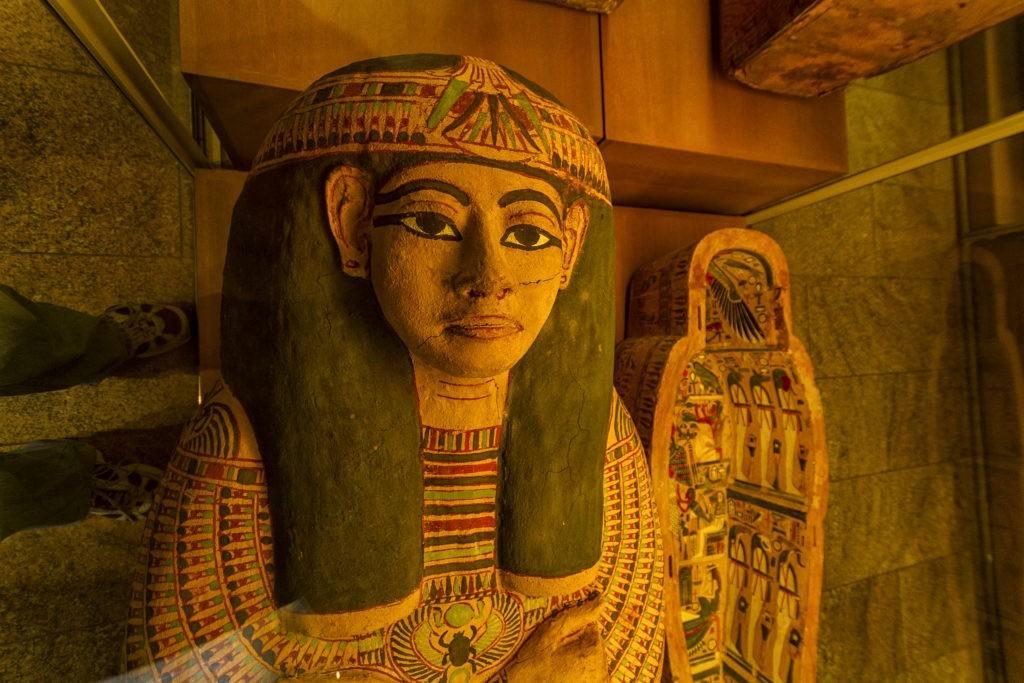 Egypt in the Metropolitan Museum of Art in NYC