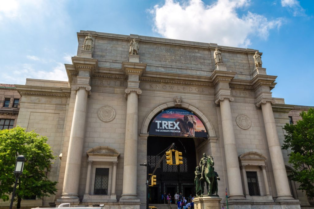 NEW YORK CITY, USA - MARCH 15, 2020: American Museum of Natural History in New York City, NY, USA