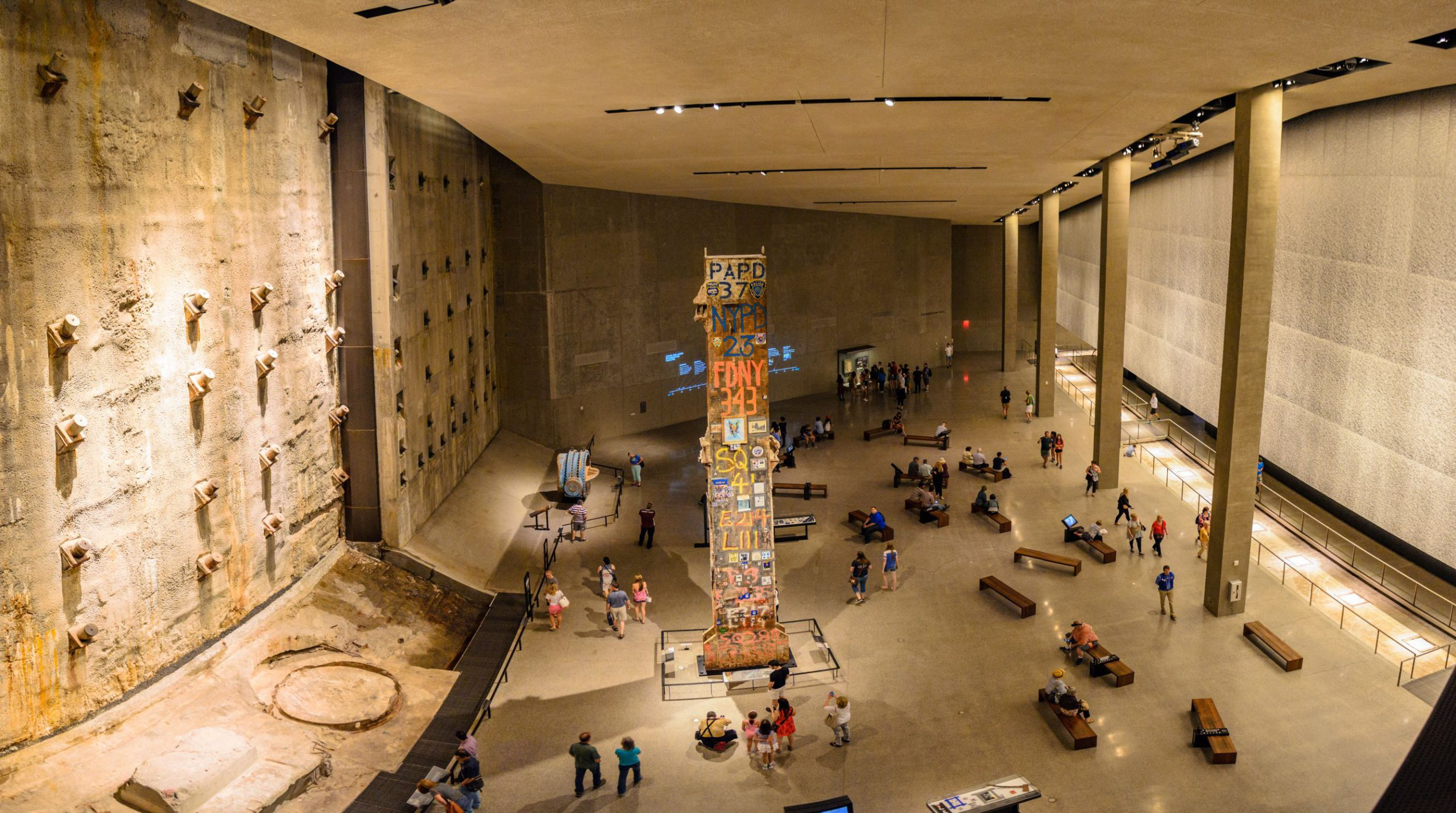 National Memorial Museum in New York City, licencja: shutterstock/By Pit Stock