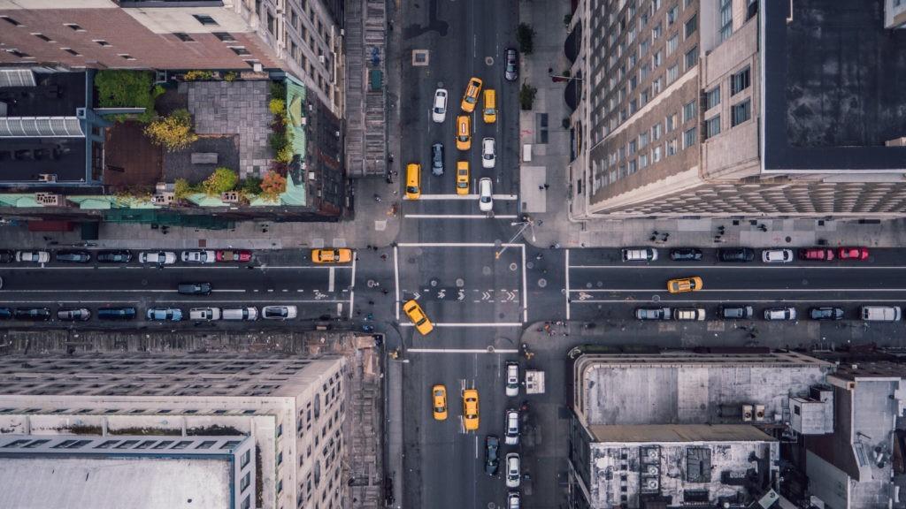 Nowy Jork 5th Ave w pionie
