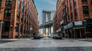 Manhattan Bridge oczami Brooklynu