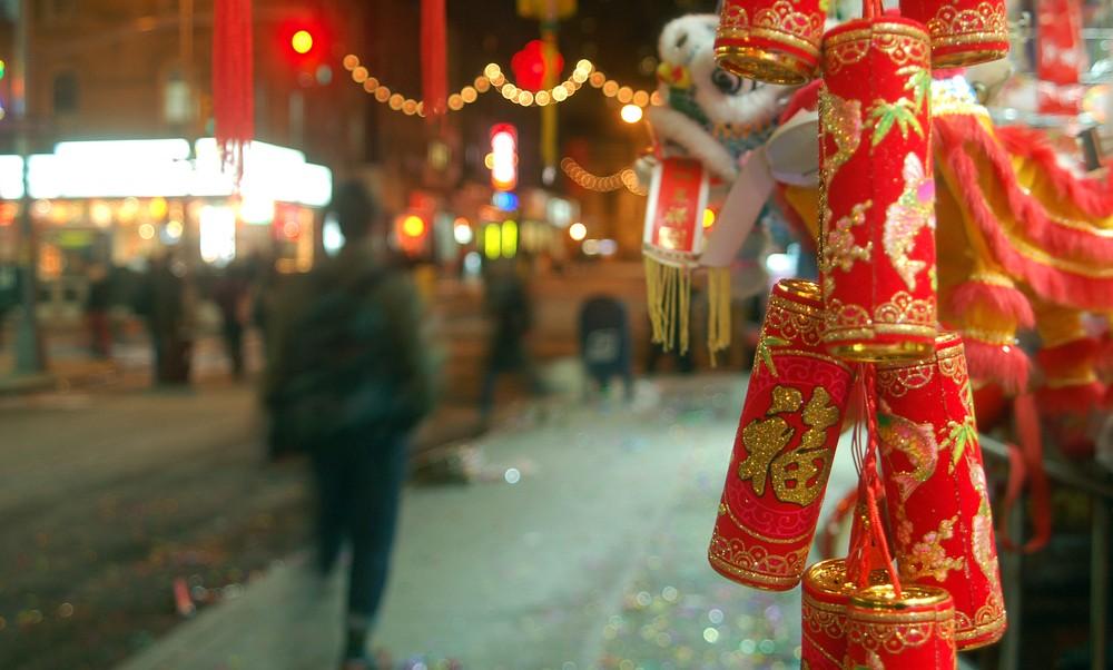 Views from Chinatown New York