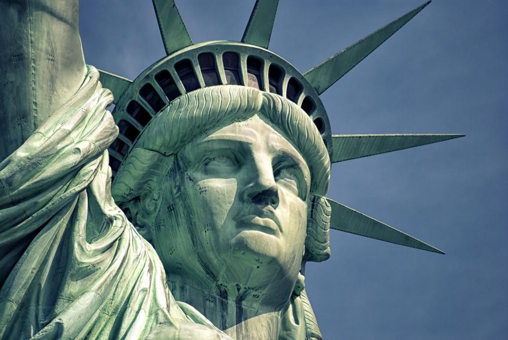 Ameryka-posąg wyspy wolności wolności